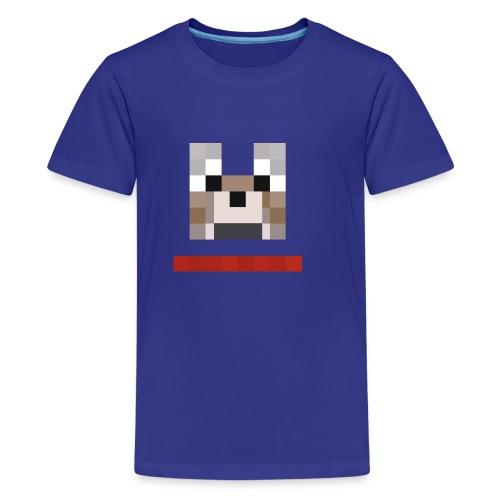 kids' mine craft dog tee - Kids' Premium T-Shirt