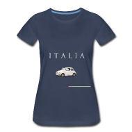 T-Shirts ~ Women's Premium T-Shirt ~ Fiat 500 Vintage Italian Style