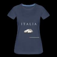 Women's T-Shirts ~ Women's Premium T-Shirt ~ Fiat 500 Vintage Italian Style