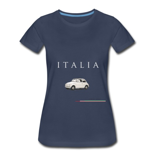 Fiat 500 Vintage Italian Style  - Women's Premium T-Shirt