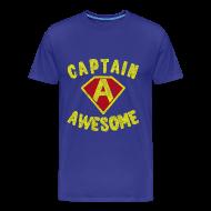 T-Shirts ~ Men's Premium T-Shirt ~ Captain Awesome T-Shirt