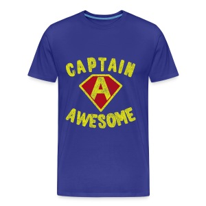 Captain Awesome T-Shirt - Men's Premium T-Shirt