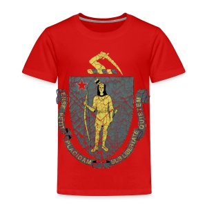 Mass Flag - Toddler Premium T-Shirt
