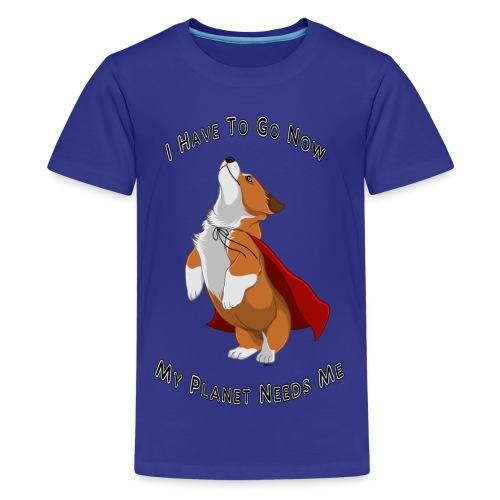 Kids Shirt - SuperCorgi - Kids' Premium T-Shirt