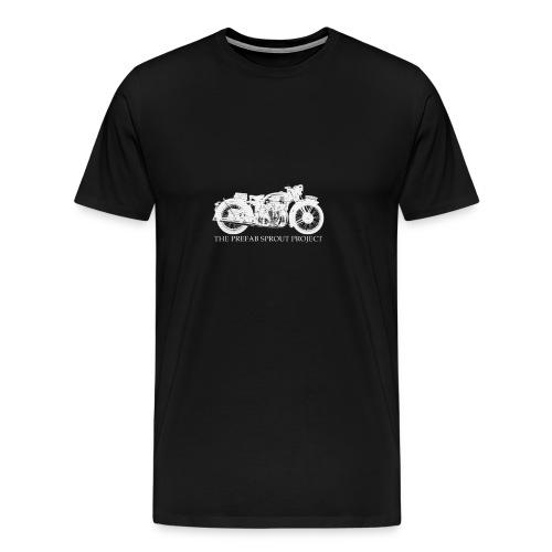 TPSP White Motorcycle - Men's Premium T-Shirt