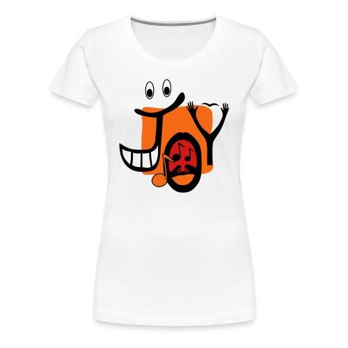 Joy women's classic T-shirt - Women's Premium T-Shirt
