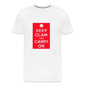 Keep Clam - Men's Premium T-Shirt