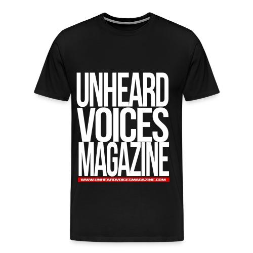 Unheard Voices Magazine Men's T-Shirt - Men's Premium T-Shirt