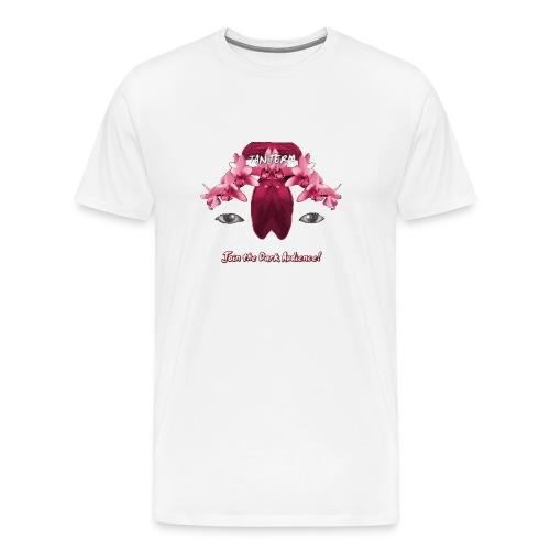TANJERIA - join the dark audience! (T-Shirt- M/White) - Men's Premium T-Shirt