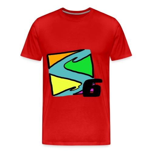 Shnooky6 Logo - Men's Premium T-Shirt