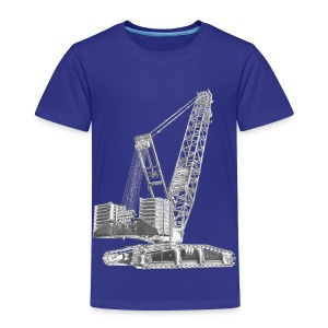 Crawler Crane 750t - Toddler Premium T-Shirt