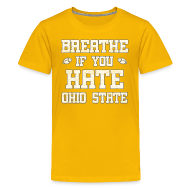 Kids' Shirts ~ Kids' Premium T-Shirt ~ Breathe If You Severely Dislike That One Place