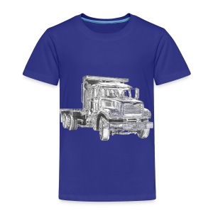 Flatbed Truck - Toddler Premium T-Shirt