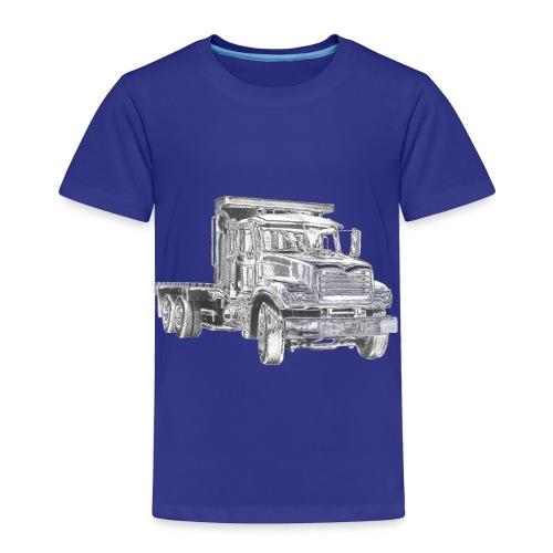 Flatbed Truck - Toddler Premium T-Shirt