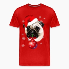 A Very Merry Christmas Pug