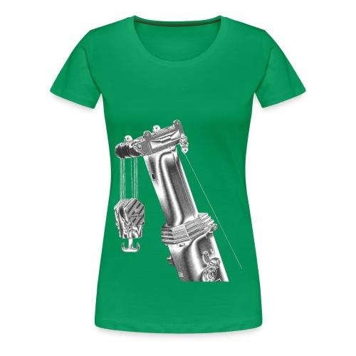 Mobile Crane Boom Top - Women's Premium T-Shirt