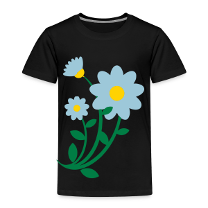 Bunch of flowers - Toddler Premium T-Shirt