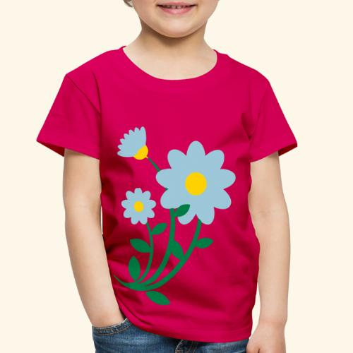 Bunch of flowers - Toddler Premium T-Shirt