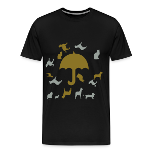 Its raining cats and dogs - Men's Premium T-Shirt