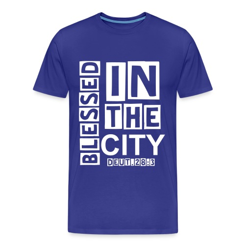 Blessed In The City - Men's Premium T-Shirt
