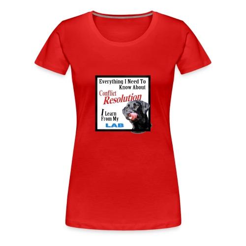 Lab Conflict Resolution Women's Tee Shirt - Women's Premium T-Shirt