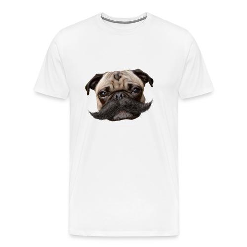 Hugo Mustachio for him - Men's Premium T-Shirt
