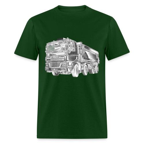 Dump Truck 8x4 - Men's T-Shirt