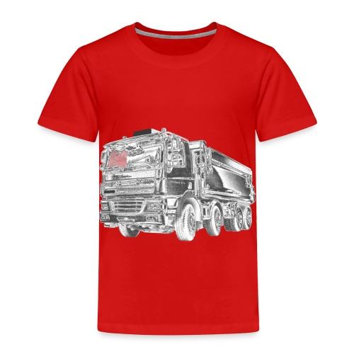 Dump Truck 8x4 - Toddler Premium T-Shirt