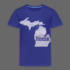 Michigan Home - Toddler Premium T-Shirt