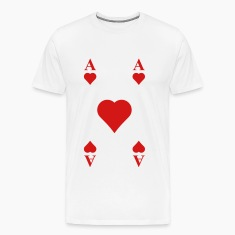 ace of hearts T-Shirts
