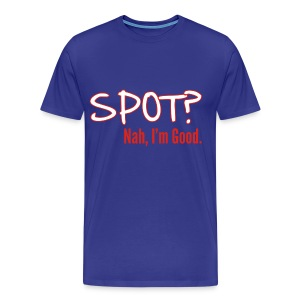 Spot? Shirt, Black - Men's Premium T-Shirt
