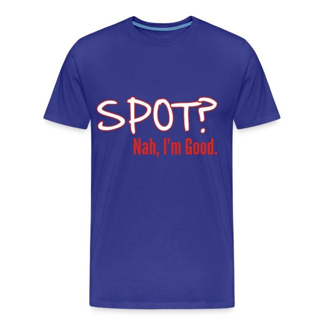 Spot? Shirt, Black