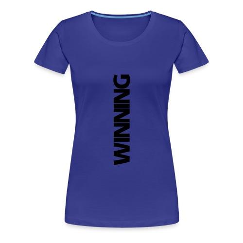 Winning - Women's Premium T-Shirt