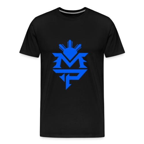 Black and Blue - Men's Premium T-Shirt
