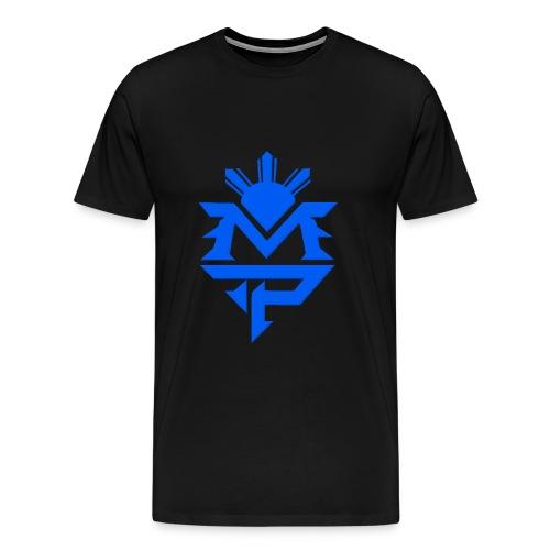 Black and Blue - Men's Premium T-Shirt