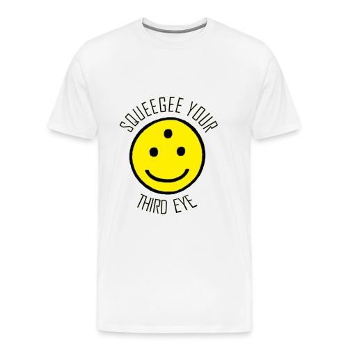 Squeegee Your Third Eye - Men's Premium T-Shirt