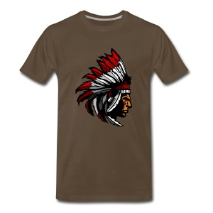 Indian Pose - Men's Premium T-Shirt