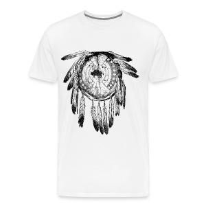 Dreamcatcher/Feathers - Men's Premium T-Shirt