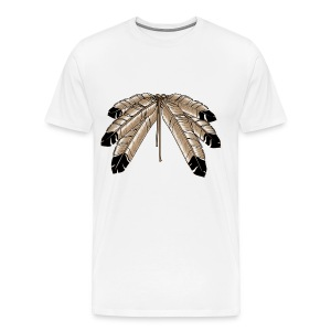 Feather Spread - Men's Premium T-Shirt
