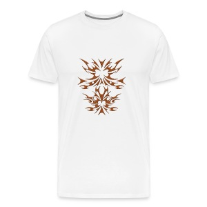 BrownWood Tribal - Men's Premium T-Shirt