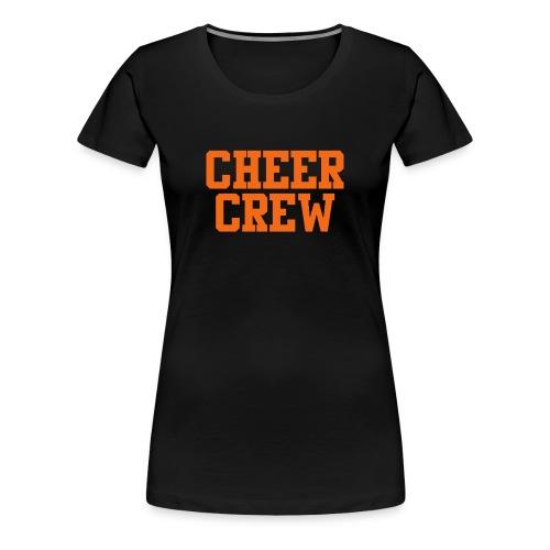 cheer crew t-shirt - Women's Premium T-Shirt
