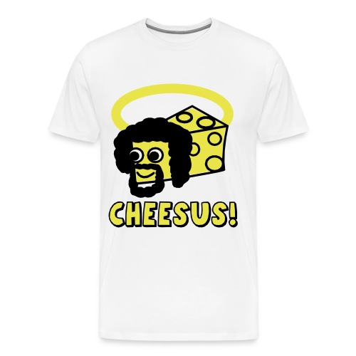 CHEESUS!!! - Men's Premium T-Shirt