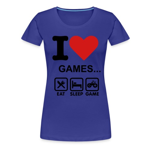 Game T-shirt - Women's Premium T-Shirt