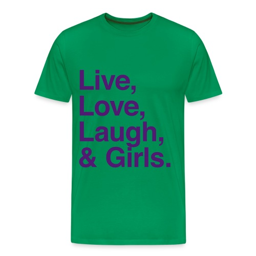 Girls - Men's Premium T-Shirt