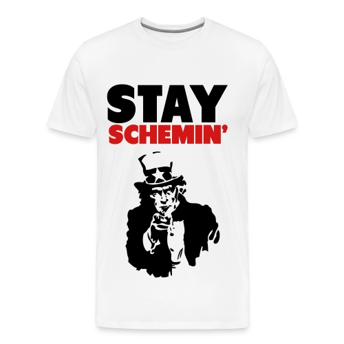 Stay Schemin - Men's Premium T-Shirt