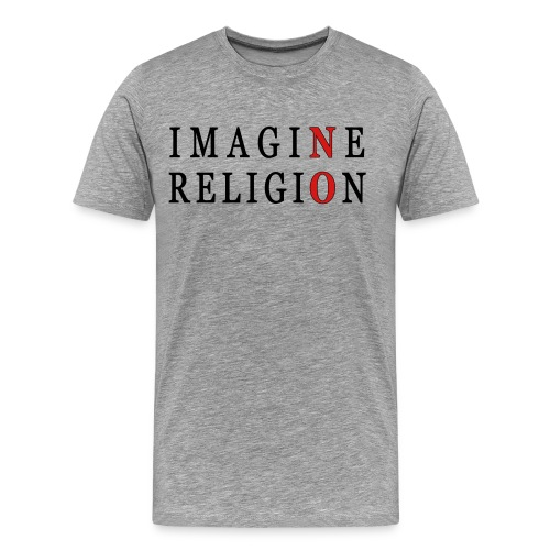 Imagine No Religion - Men's Premium T-Shirt