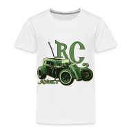 Baby & Toddler Shirts ~ Toddler Premium T-Shirt ~ Kids - Ringer T-Shirt - Dark Dragster