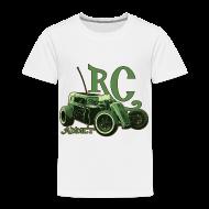Baby & Toddler Shirts ~ Toddler Premium T-Shirt ~ Kids - Ringer T-Shirt - Dark Dragster