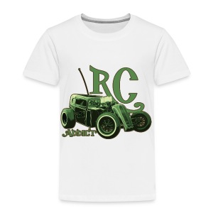 Kids - Ringer T-Shirt - Dark Dragster - Toddler Premium T-Shirt
