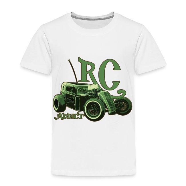 Kids - Ringer T-Shirt - Dark Dragster